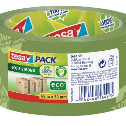 tesa Pack-Klebeband Eco & Strong 50 mm x 66 m